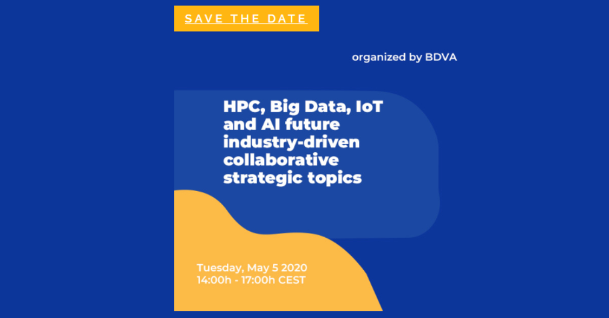 BDVA webinar on Big Data, AI, IoT, Cloud and HPC with DeepHealth Project