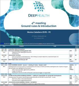 DeepHealth 4th Plenary Meeting