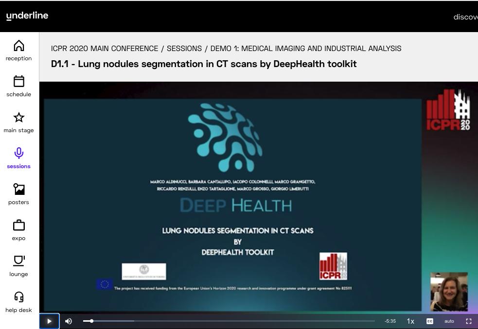DeepHealth at ICPR 2020