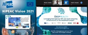 Great presence of DeepHealth at HiPEAC 2021