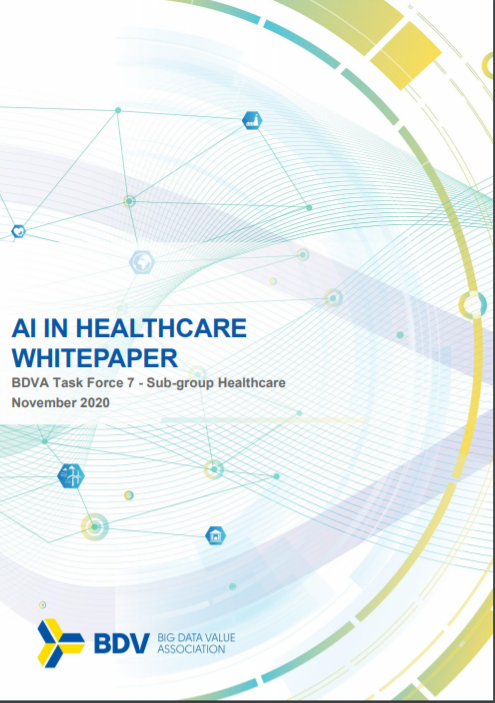DeepHealth as a success use-case in the BDVA Whitepaper on AI in Healthcare