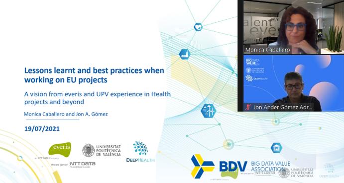 Best practices on EU Projects – BDVA Webinar