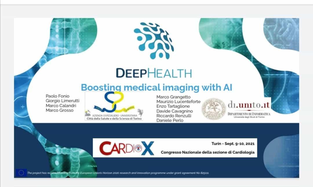 DeepHealth workshop at CardioX event