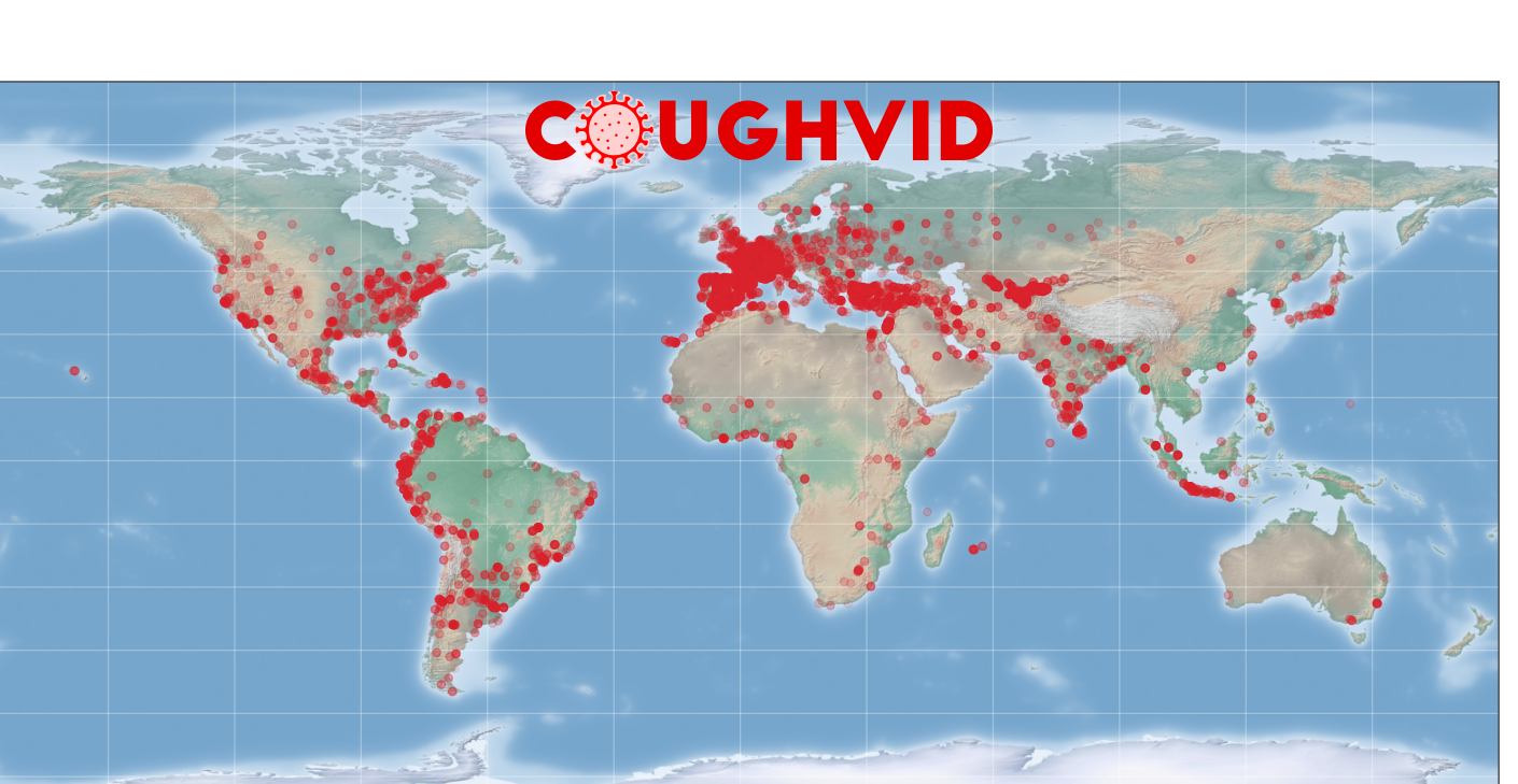 COUGHVID crowdsourcing dataset is now available